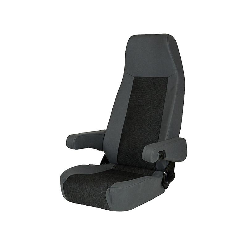 Pilotski sedež S6.1 Turki d.o.o. Vrtljive konzole Varnostne kletke Zračno vzmetenje Samostojni sedeži